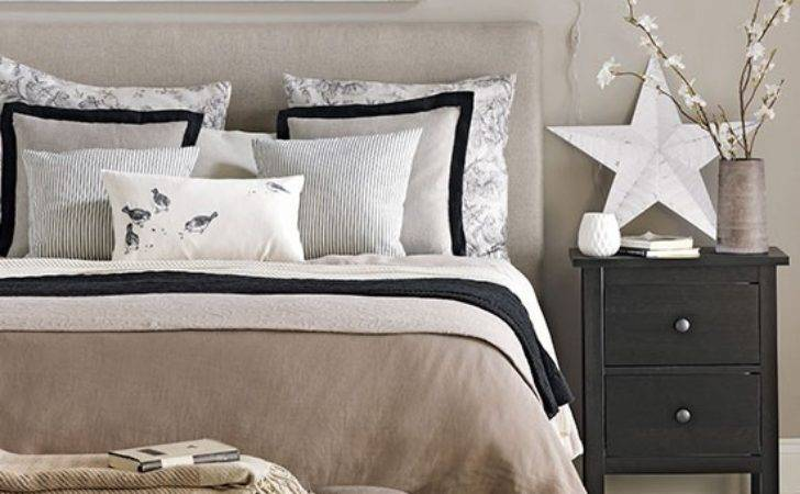 Hotel Style Neutral Bedroom Design Ideas