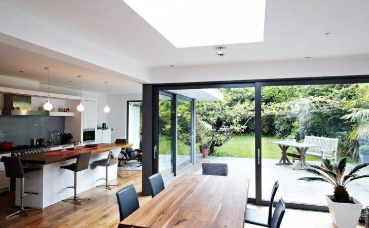 House Floor Ceiling Glass Beautiful Nature Views