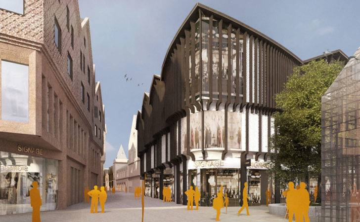 House Fraser Anchor New Chester Retail Complex