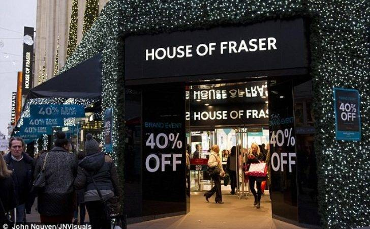 House Fraser Launch Same Day Delivery Service