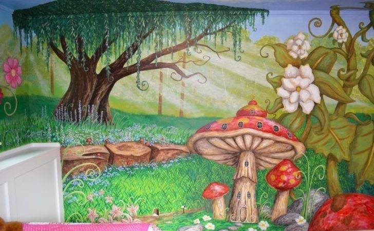 Houzz Enchanted Forest Bedroom Traditional Kids