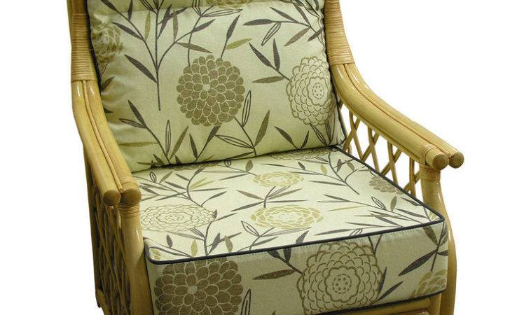 Hump Back Cane Chair Cushions Covers Conservatory Wicker