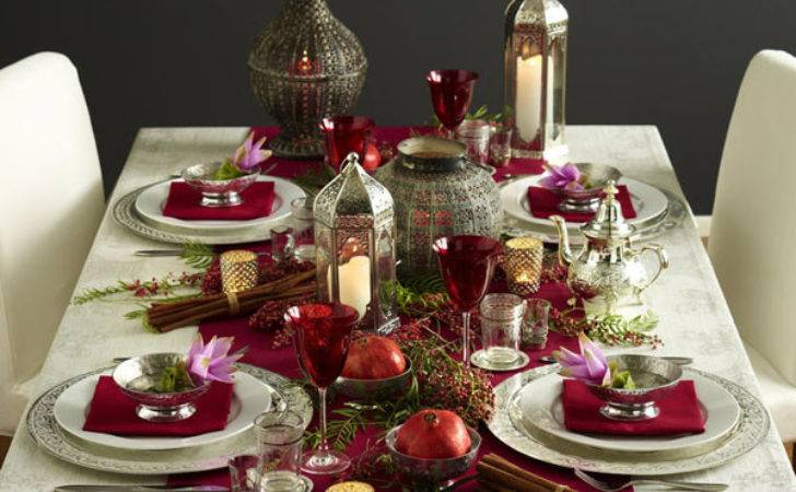 Ideas Decorate Your Christmas Dinner Table Eat Food