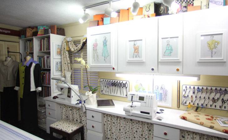 Ideas Decorate Your Sewing Room Threads