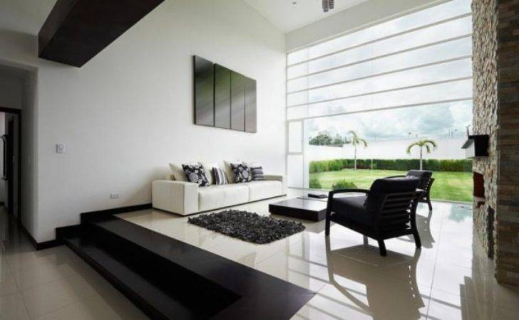 Ideas Interior Design Black White Living Room Decor