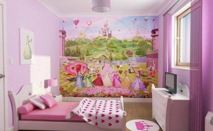 Ideas Little Girl Rooms Awesome Pink Design Stroovi