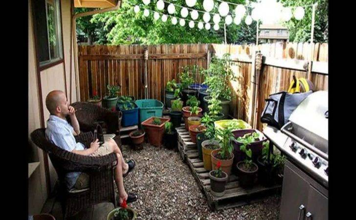 Ideas Small Gardens Porch Back Yard Very Great Patio
