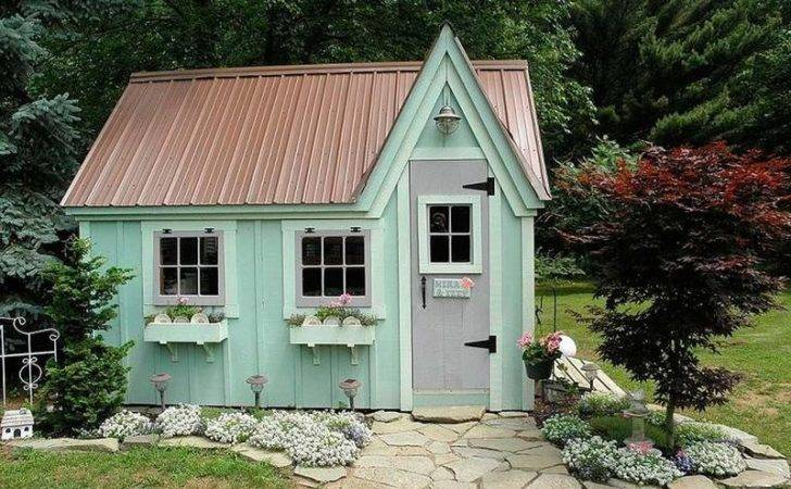 Ideas Style Your Garden Shed