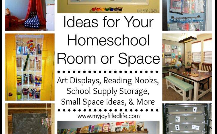 Ideas Your Homeschool Room Space Joy Filled Life