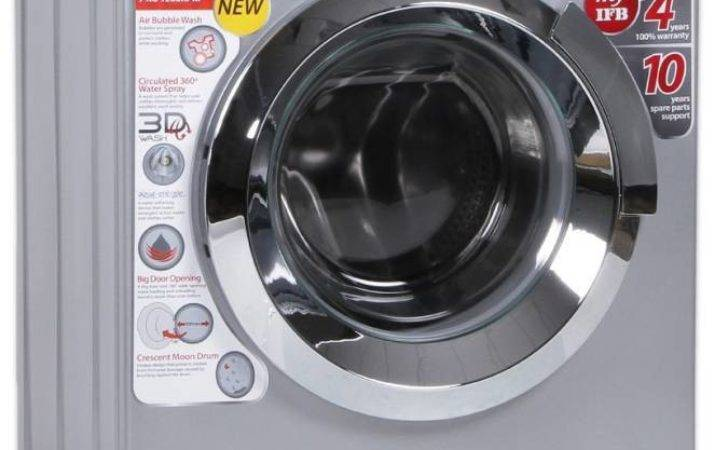 Ifb Fully Automatic Front Load Washing Machine Silver