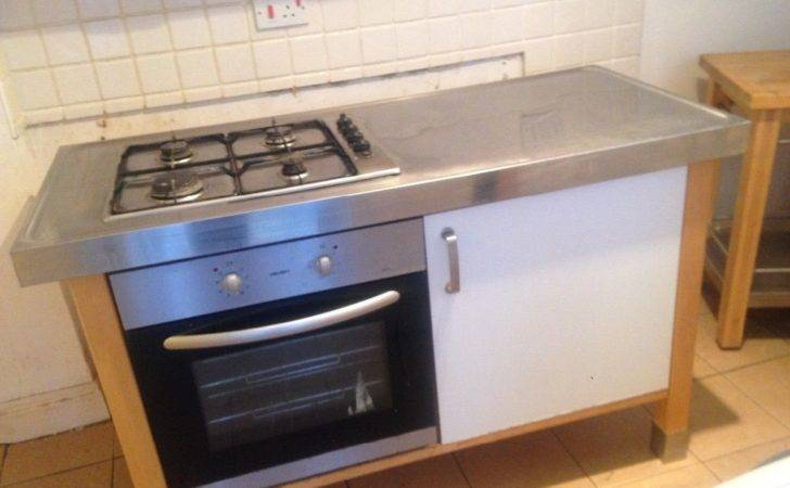 Ikea Freestanding Kitchen Units Oven Sink Wall