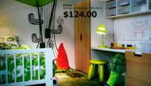 Ikea Kids Rooms Catalog Shows Vibrant Ergonomic Design