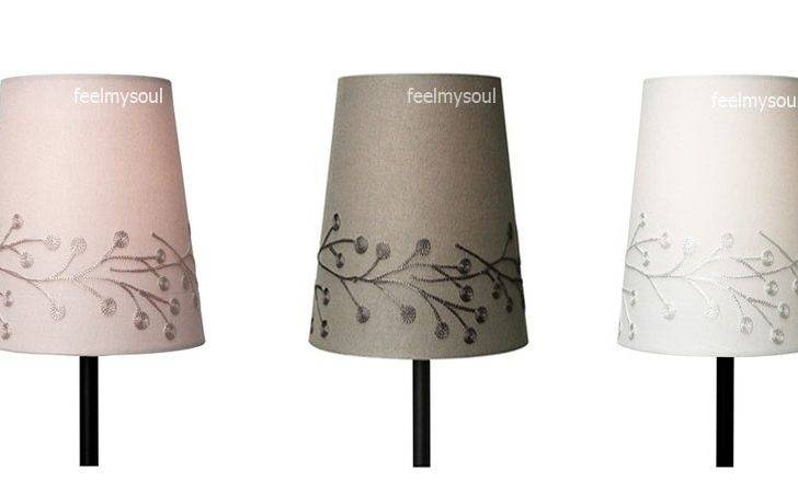 Ikea Lamp Shade Pink Gray White Brand New Ebay