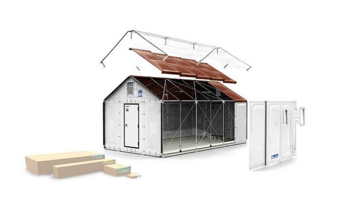 Ikea Unveils Solar Powered Flat Pack Shelters Easily