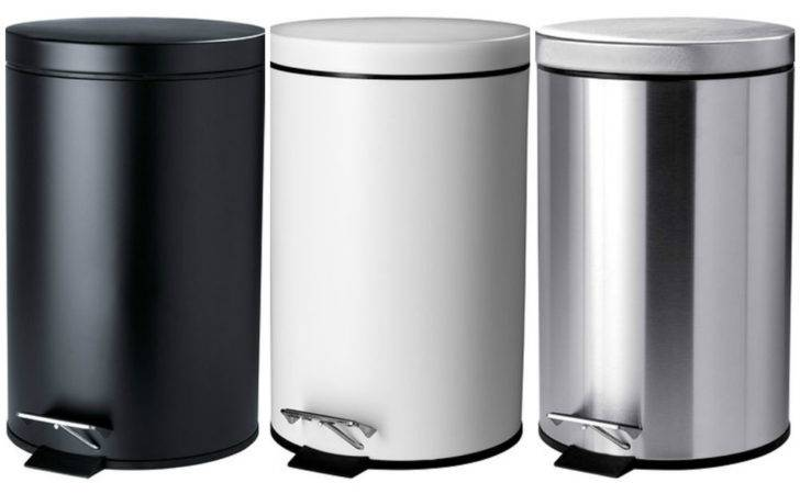 Ikea Waste Pedal Bin Litres Rubbish Dustbin Kitchen