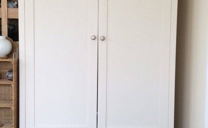 Ikea White Double Wardrobe Drawer Wells Somerset