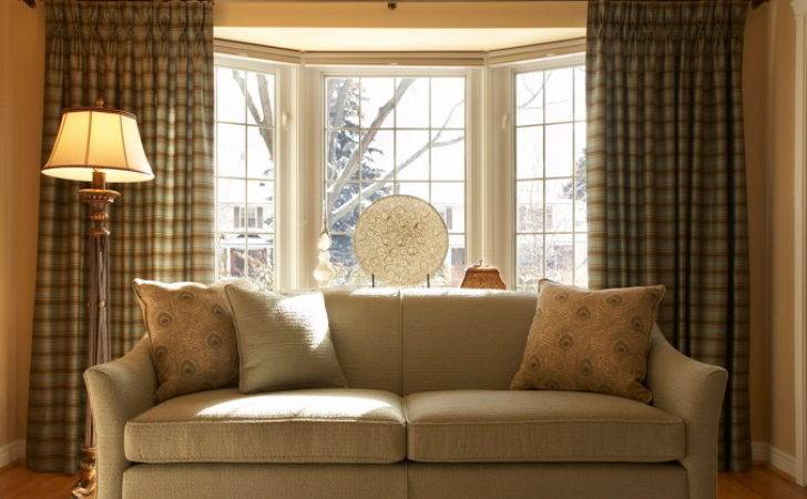 Impressive Window Treatment Ideas Bay Windows Decohoms