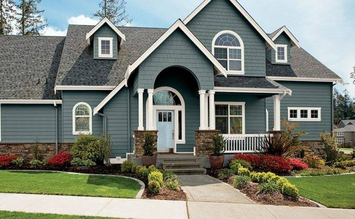 Incridible Behr Exterior Paint Color Combinations
