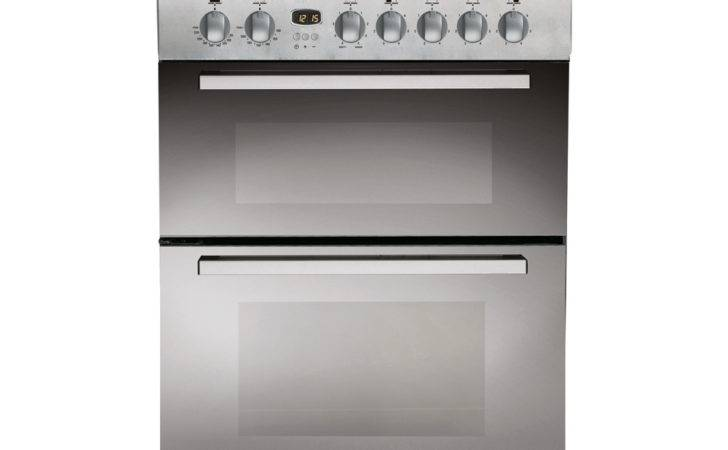Indesit Electric Fan Oven Ceramic Cooker Mirror