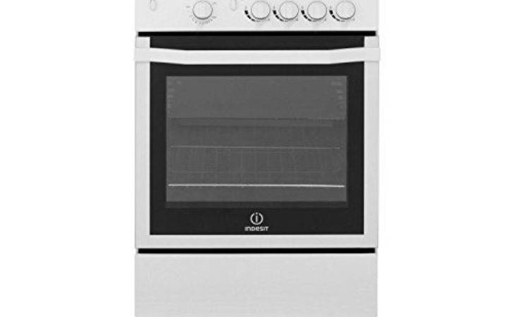 Indesit Ggw Gas Cooker White Standing Cookers