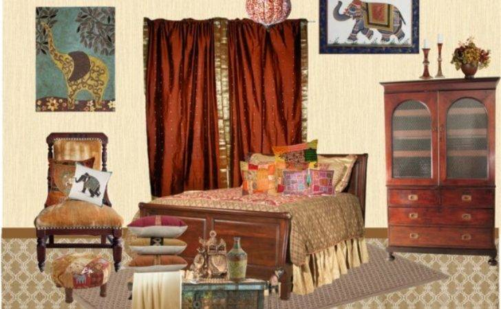 India Inspired Bedroom Polyvore