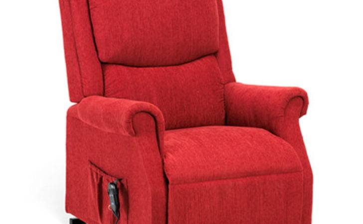 Indiana Petite Rise Recliner Chair Berry