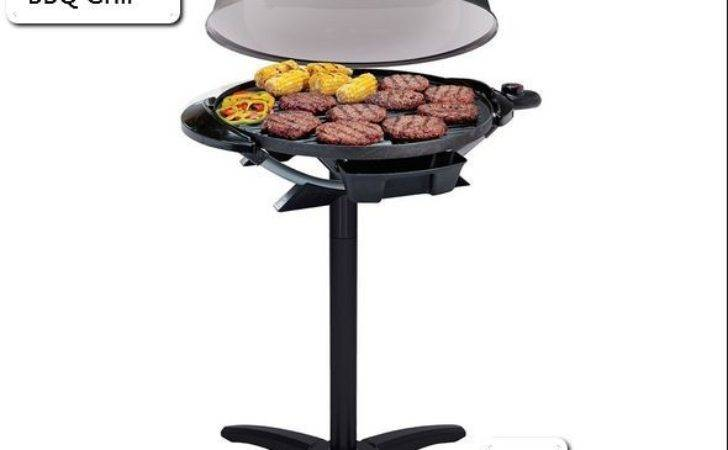 Indoor Outdoor Electric Grill Portable George Foreman Bbq