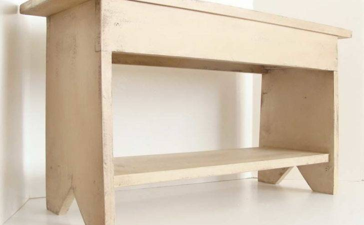 Indoor Small Entryway Bench Style Model