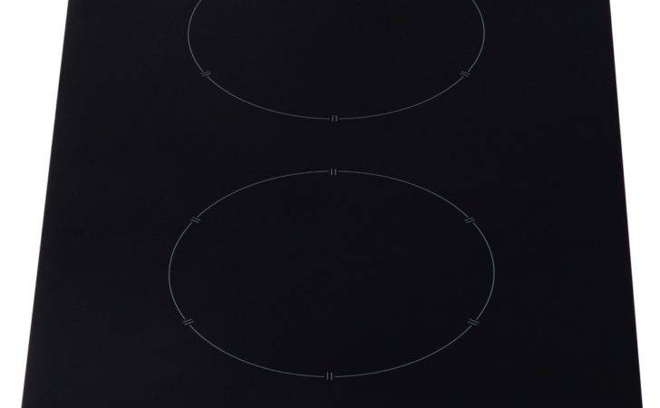 Induction Hob Two Rings Not Working Black