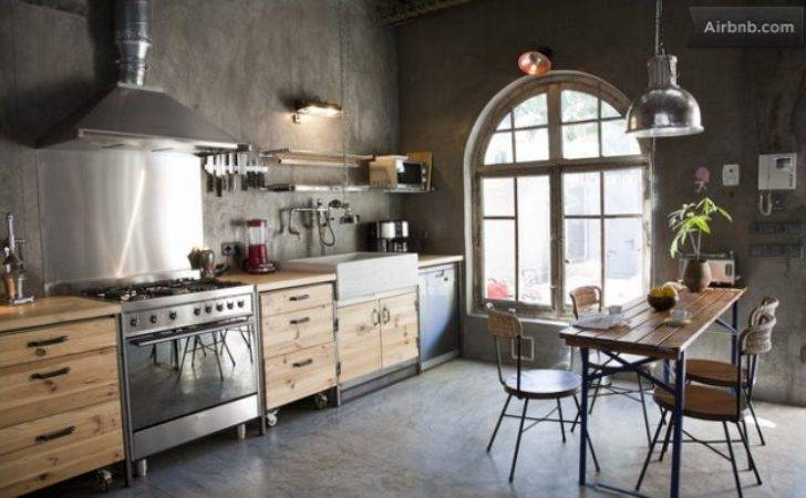 Industrial Chic Apartment Inviting Appeal Decor