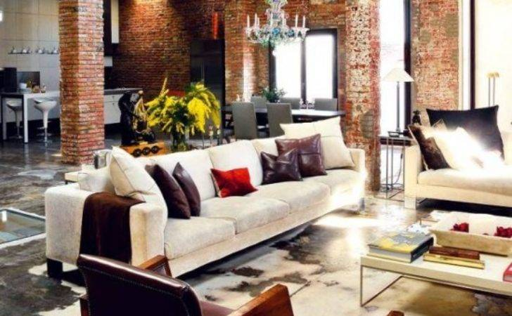 Industrial Interiors Elements Home