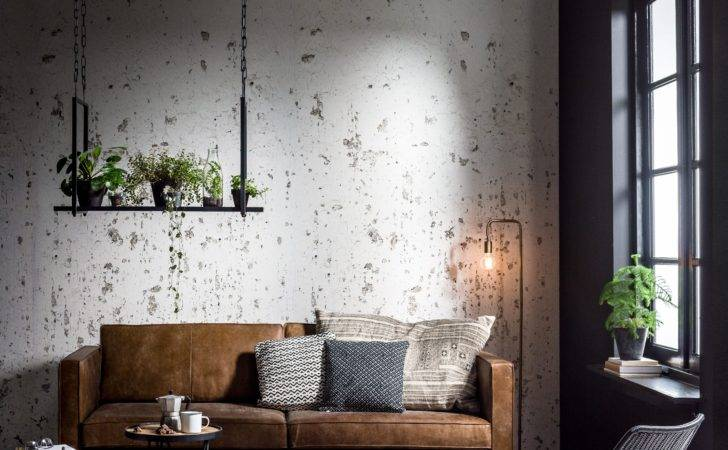 Industrial Living Room Ideacoration