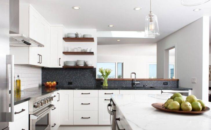 Industrial Modern White Kitchen Hgtv