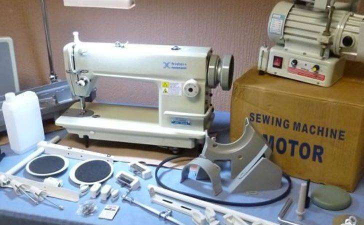 Industrial Straight Stitch Complete Stand Motor