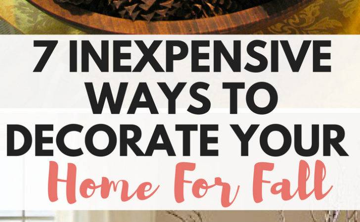 Inexpensive Ways Decorate Your Home Fall