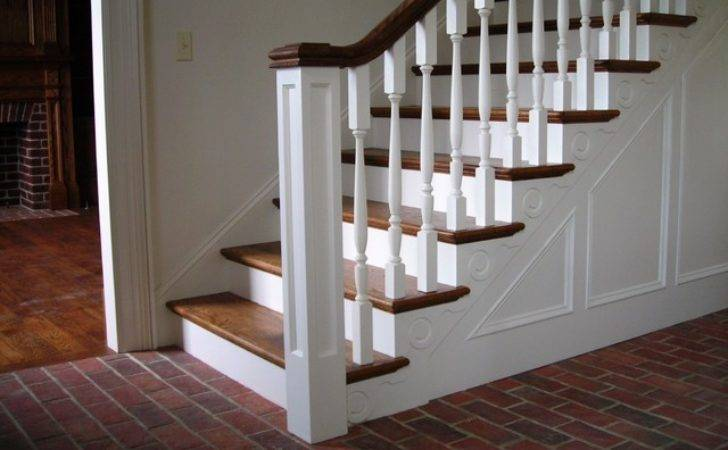 Inglenook Tile Design Traditional Staircase