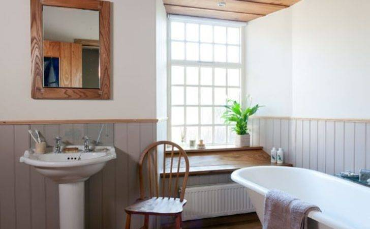 Inspired Country Style Bathroom Housetohome