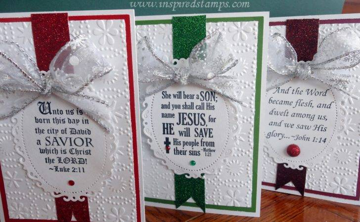 Inspired Stamps Blog Make Your Own Christmas