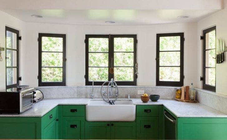 Inspiring Black Green Kitchens Apartment Therapy