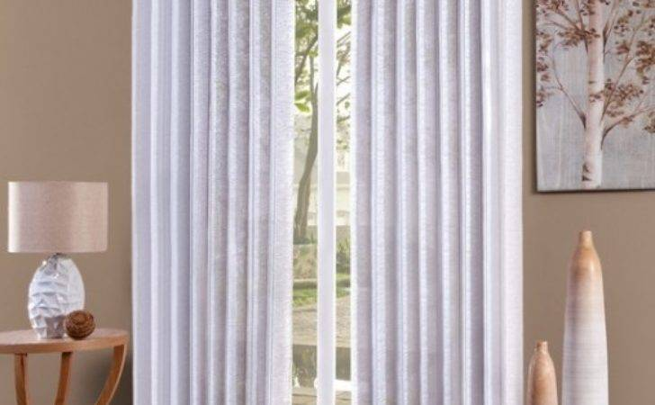 Install Curtains Over Vertical Blinds Eyelet