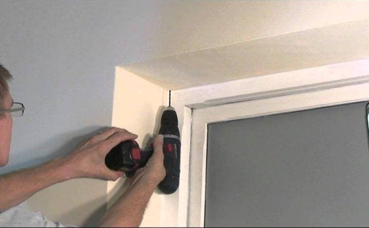 Install Roller Blind Youtube