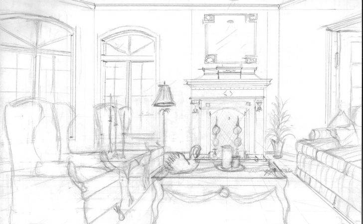 Interior Design Perspective Drawings Life