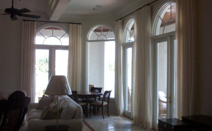 Interior Fitted White Sheer Curtain Shades Plus