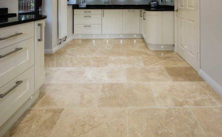 Ionian Travertine Floor Tiles Honed Filled