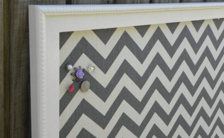 Items Similar Chevron Bulletin Board Framed Cork