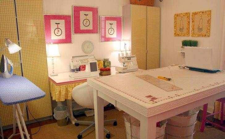 Iveyc New Sewing Room