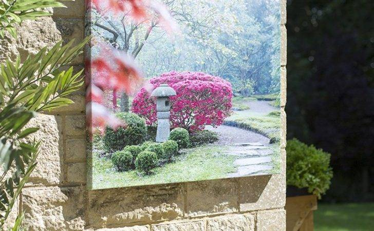Japan Style Garden Outdoor Wall Art Savvysurf