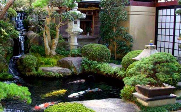 Japanese Garden Lanscape Creative Ideas