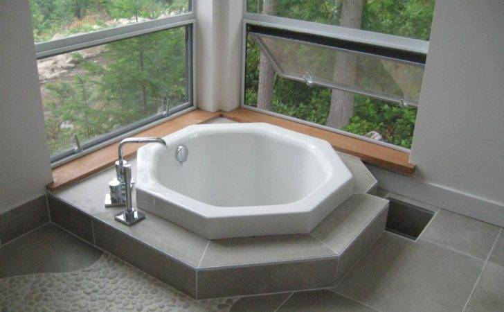 Japanese Style Soaking Tub Give Asian Accent Your