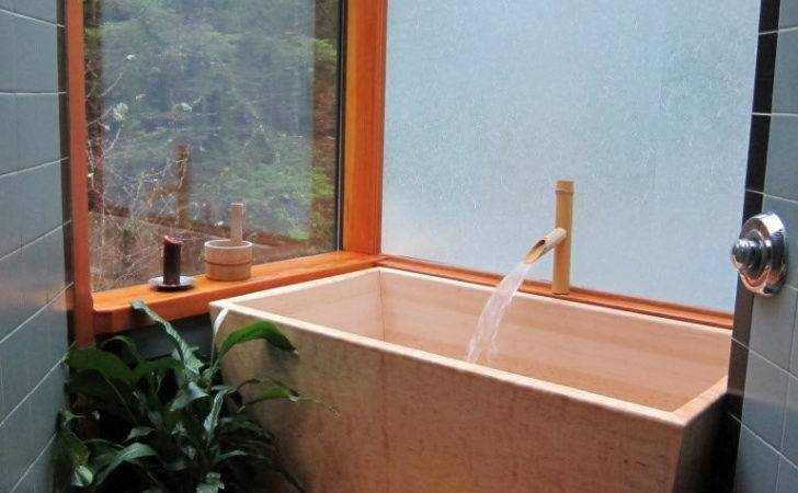 Japanese Style Soaking Tubs Catch Bathroom
